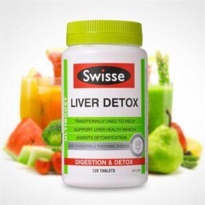 Viên uống hỗ trợ thải độc gan Swisse Liver…120v