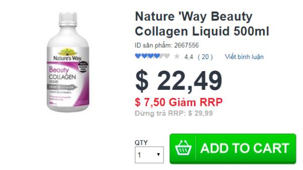 Nature 'Way Beauty Collagen Liquid 500ml