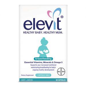 Elevit sau sinh Breastfeeding của Úc