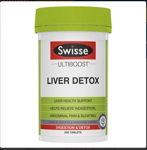 Viên uống hỗ trợ thải độc gan Swisse Liver…200v
