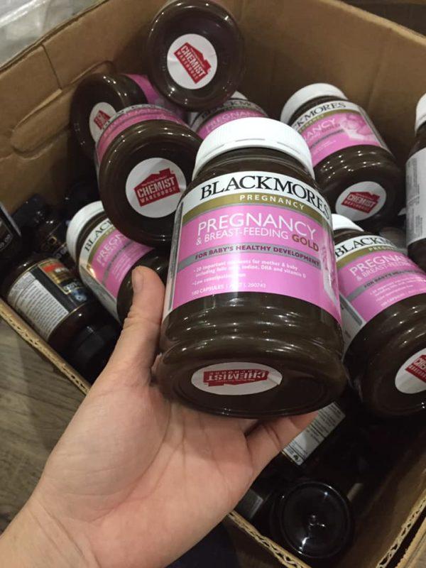 vitamin tổng hợp cho bà bầu blackmores