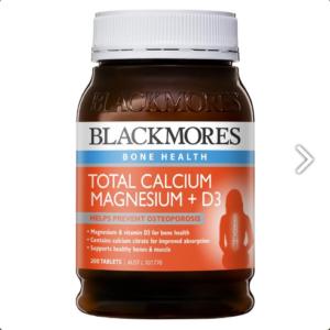 Blackmores Total Calcium & Magnesium + D3