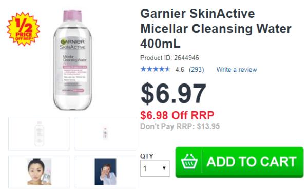 Garnier SkinActive Micellar 400mL