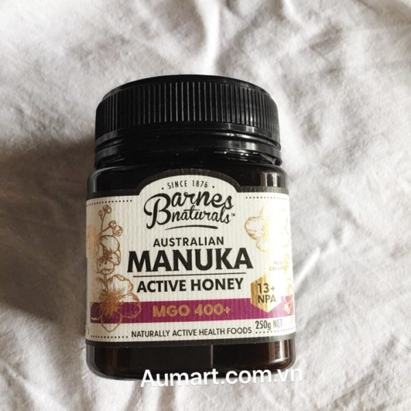 Mật ong Manuka Barnes Naturals Australian 250g
