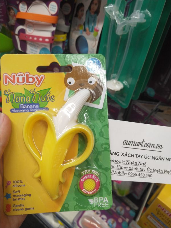 Nuby Nananubs Banana Massaging Toothbrush
