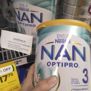 sữa bột nan optipro 3