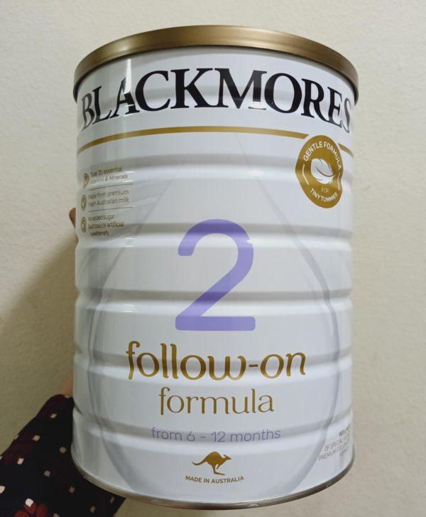 Sữa Blackmores số 2 cho trẻ từ 6-12 tháng tuổi