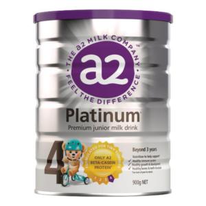Sữa bột A2 Platinum số 4 cho bé từ 3 tuổi