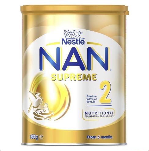 Sữa bột NAN Supreme Formula số 2 cho bé từ 6 tháng tuổi